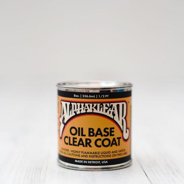 ALPHAKLEAR - Oil Based Clear Coat 8oz