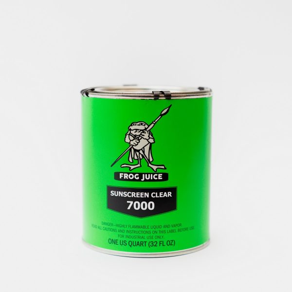 Frog Juice 7000 Sunscreen Clear