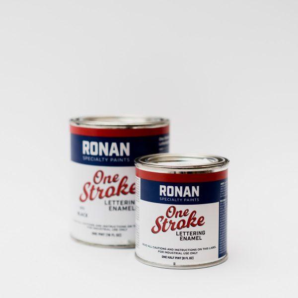 Ronan One-Stroke lettering enamel