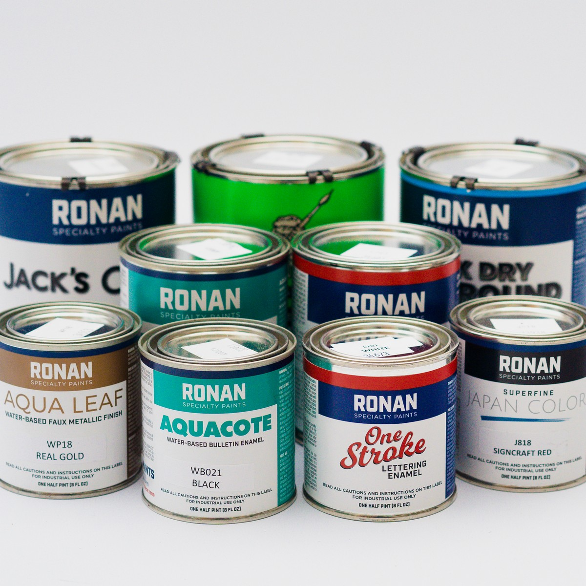 Ronan Specialty Paints in the UK and Europe