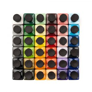 Alphakrylik Megapack - All 36 colours - durable acrylic paint for signwriting and art