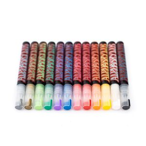 Alpha6 Acrylic Markers - Set of 12