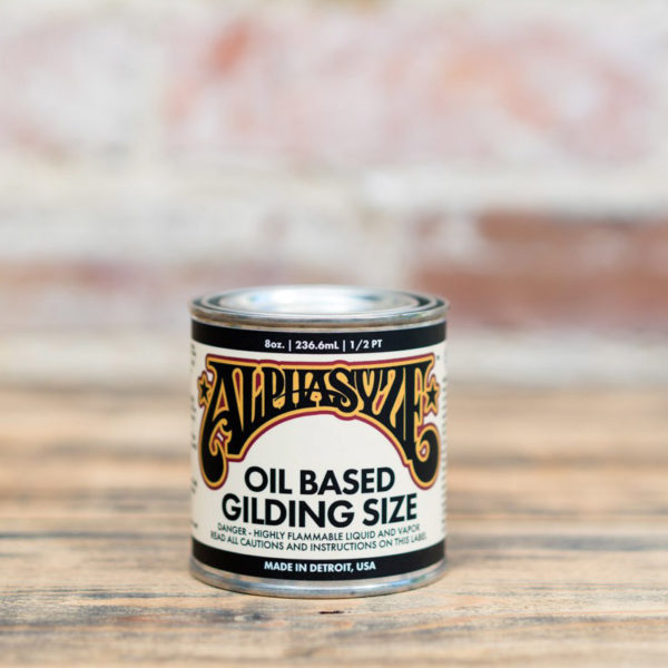 Alpha 6 QUICK DRY GILDING SIZE