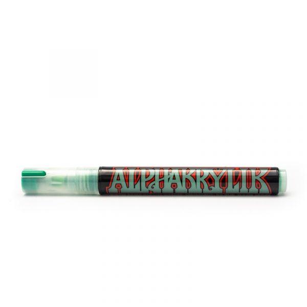 Alpha6 Acrylic Markers - DARK GREEN