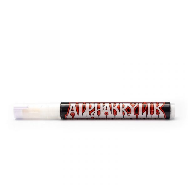Alpha6 Acrylic Markers - WHITE