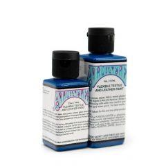 AlphaFlex BRIGHT BLUE - Flexible textile and leather paint -