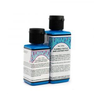AlphaFlex ELECTROSHOCK BLUE - Flexible textile and leather paint -