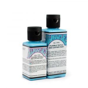 AlphaFlex LIGHT BLUE - Flexible textile and leather paint -