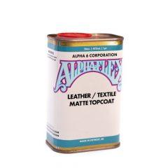 AlphaFlex Leather/Textile Matte Topcoat 16oz