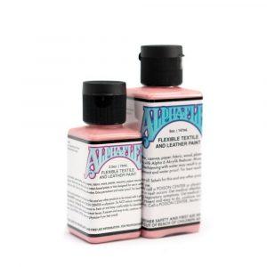 AlphaFlex PINK - Flexible textile and leather paint -