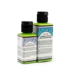 AlphaFlex SLIME GREEN - Flexible textile and leather paint -