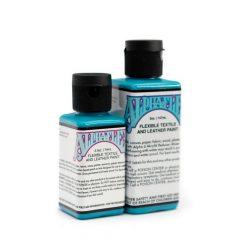 AlphaFlex TURQUOISE - Flexible textile and leather paint -