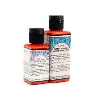 AlphaFlex VERMILION - Flexible textile and leather paint -