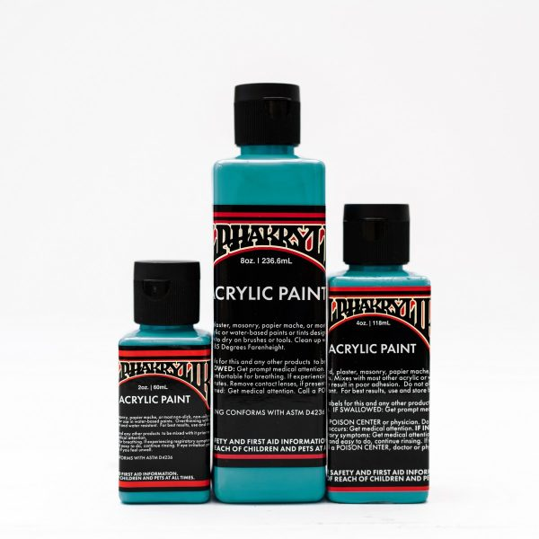 Alphakrylik TURQUOISE - durable acrylic paint for signwriting and art