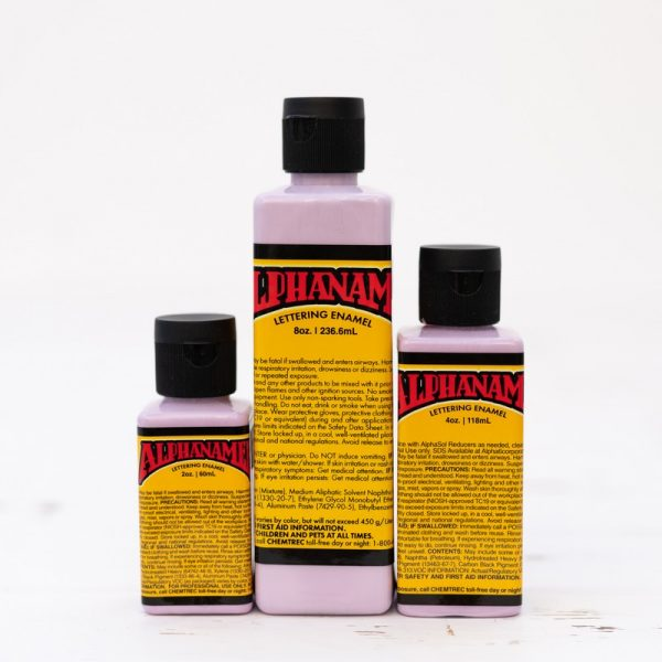 Alphanamel BLACKBERRY SHERBET enamel paint for pinstriping and signwriting