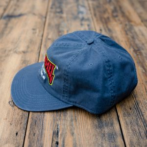 Alphanamel embroidered cap