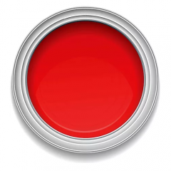 Ronan Aquacote FIRE RED waterbased signwriting enamel paint