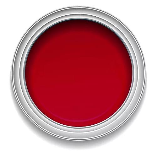 Ronan Aquacote BRIGHT RED waterbased signwriting enamel paint