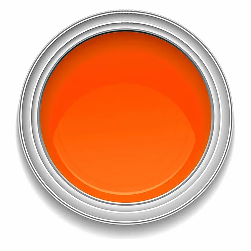 Ronan Aquacote MEDIUM ORANGE waterbased signwriting enamel paint