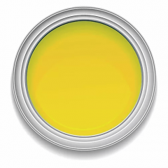 Ronan Aquacote PRIMROSE YELLOW waterbased signwriting enamel paint