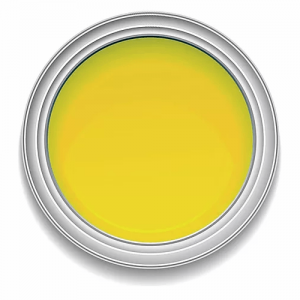 Ronan Aquacote PRIMROSE YELLOW waterbased signwriting enamel paint