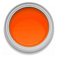 Ronan One-Stroke BRIGHT ORANGE lettering enamel