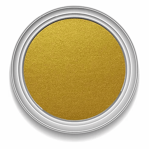 Ronan Aqua Leaf INCA GOLD metallic signwriting enamel paint