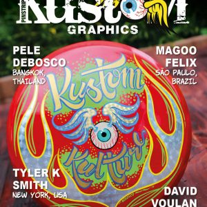 Pinstriping & Kustom Graphics Magazine Issue 80 June/July 2020