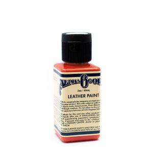 Leather Paint 2oz - BLOOD ORANGE