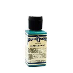 Leather Paint 2oz - PEACOCK