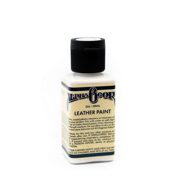 Leather Paint 2oz - WHITE
