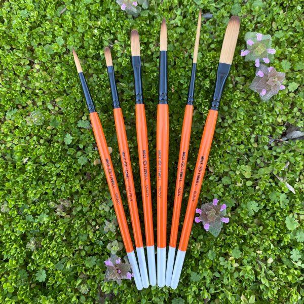 Mack/Tidwell - Fox Tails - Set of 6 brushes