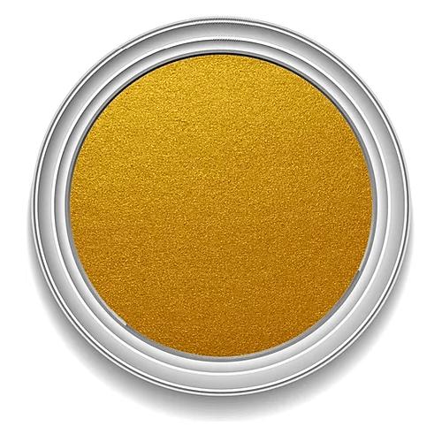 Ronan Aqua Leaf MAYAN GOLD metallic signwriting enamel paint