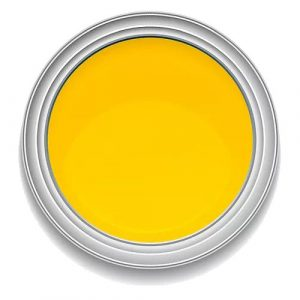 Ronan One-Stroke PROCESS YELLOW lettering enamel