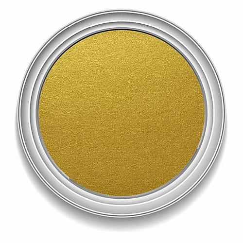 Ronan Aqua Leaf REAL GOLD metallic signwriting enamel paint