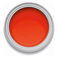 Ronan One-Stroke RED ORANGE lettering enamel