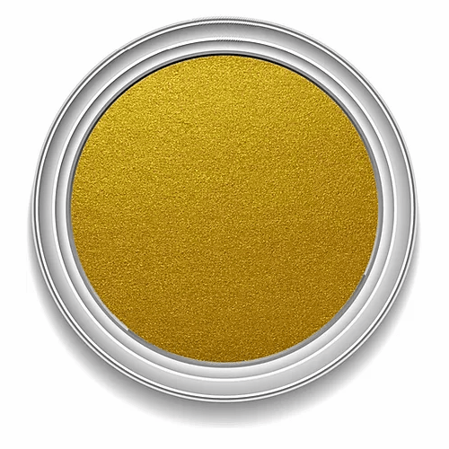Ronan Aqua Leaf RICH GOLD metallic signwriting enamel paint