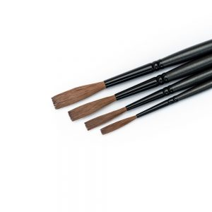 Alpha6 Streaker brush set - signwriting brushes