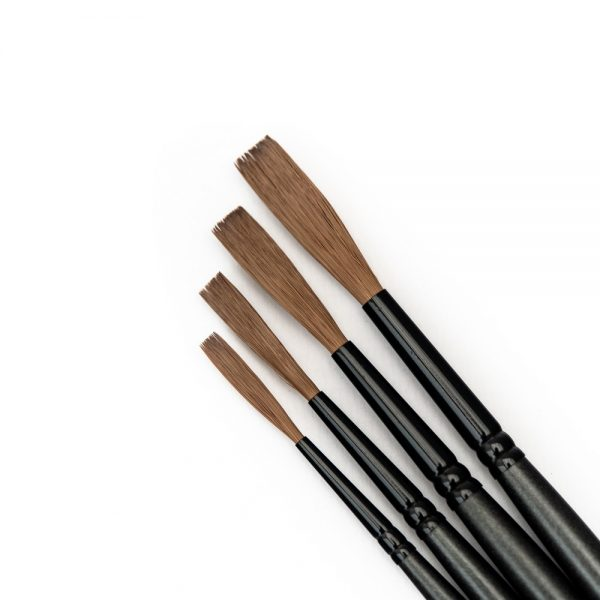 Alpha6 Streaker brush set - signwriting brushes