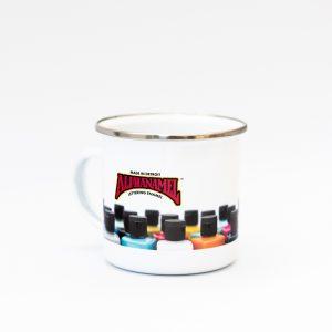 Branded Enamel Mugs - Alphanamel
