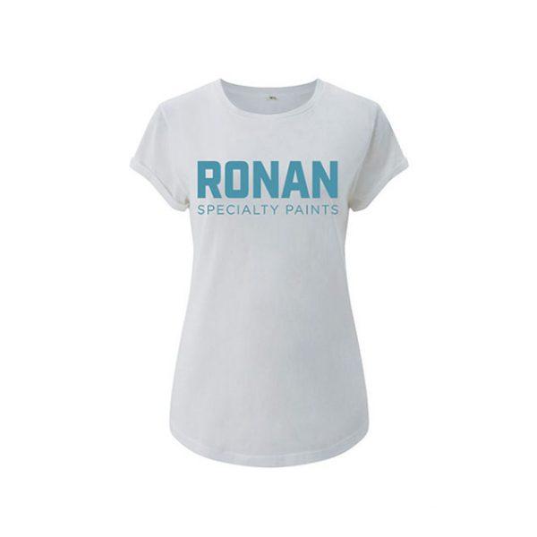 Ronan Paints T-shirt - ladies White