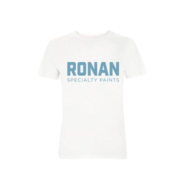 Ronan Paints T-Shirt - mens - stone wash white