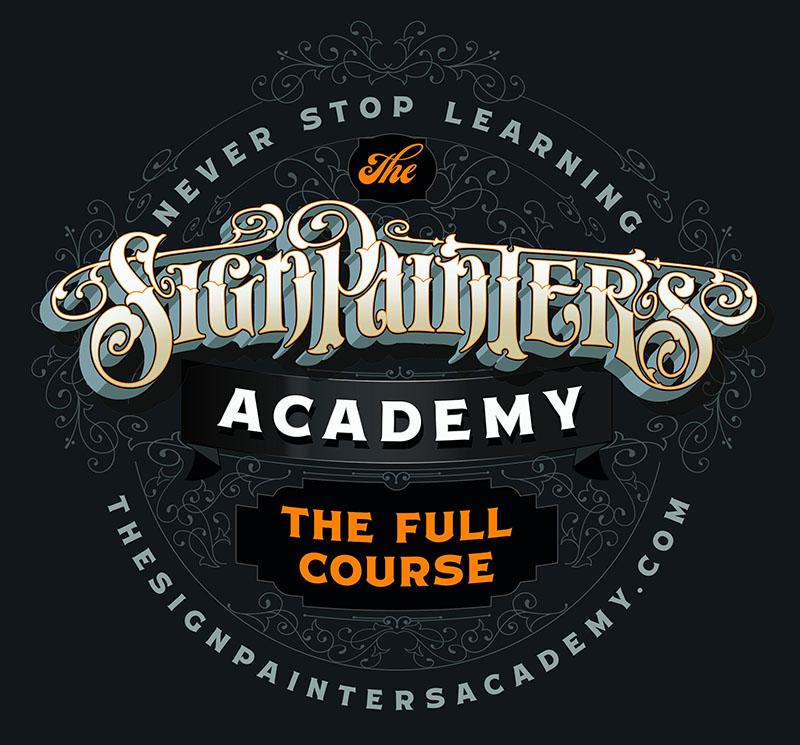 Sabre Paints sponsoring Signpainters Academy