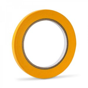 Yellow low tack lining tape
